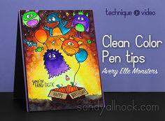 VIDEO:  Clean Color Pen tips