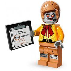 the lego movie Velma Staplebot  | Lego Minifig Serie 12 71004 - THE LEGO MOVIE Velma Staplebot (La ...