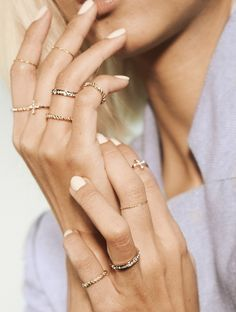 dainty thin rings A PIECE of TOAST // Lifestyle + Fashion Blog // Dallas : Page 7 of 605