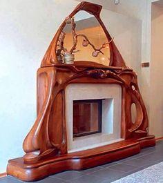 Art Nouveau Fireplace - Art Nouveau Fireplace La mejor imagen sobre healthy eating para tu gusto Estás buscando algo y no - Interior Art Nouveau, Art Nouveau Furniture, Art Nouveau Design, Muebles Estilo Art Nouveau, Muebles Art Deco, Unique Furniture, Furniture Design, Furniture Dolly, Furniture Stores