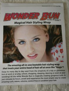 Wonder Bun Magical Hair Styling Wrap  by WonderBeautyProducts, $14.95