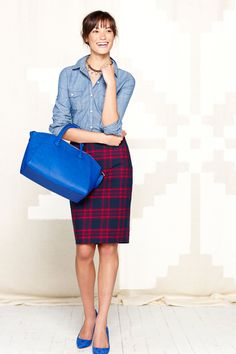 5 Ways To Wear Plaid BETTER Than Cher Horowitz #refinery29  http://www.refinery29.com/how-to-wear-plaid#slide1