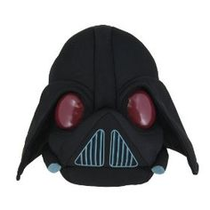 Buy Angry Birds Star Wars II Large Cuddly Toy/ Soft Plush Toy - Darth Vader, New at online store Angry Birds Star Wars, Cumpleaños Angry Birds, Darth Vader Christmas, Star Wars Darth Vader, Peluche Star Wars, Funko Pop, Starwars, Star Wars Toys, Plushies