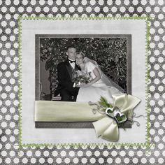 wedding scrapbook layouts | Recent Scrapbook Pages: Last Few Wedding Pages