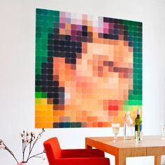 #decor #inspiração #inspiration #inspiración #ideas #ideias #joiasdolar #frida #wall