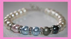 Mother's or Grandmother's Swarovski Pearl Bracelet by RHCreations3