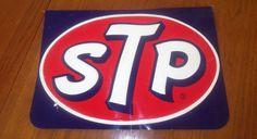 Stp Oil Embossed Metal Display Rack Sign Vintage 1960's from $125.0