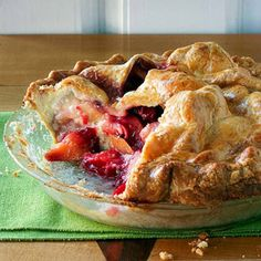 Pear-Plum Pie From Better Homes and Gardens, ideas and improvement projects for your home and garden plus recipes and entertaining ideas.