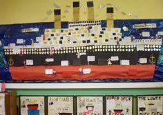 Titanic Disaster classroom display photo - Photo gallery - SparkleBox