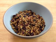 Homemade Granola from Great Food Starts Fresh.