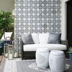 Inside Out: Indoor Decorating Ideas That Work Great Outdoors  You can actually bring some of your indoor style to your patio, deck, or porch. When it comes to making your outdoor space feel as inviting and comfortable as your indoor rooms, don't be afraid to bring some of your indoor decorating ideas outside. Here are some clever pieces to try on your patio, porch, or deck.