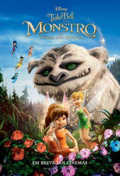 """""""Tinker Bell e o Monstro da Terra do Nunca"""" estreia em 26 de fevereiro. Trailer: http://youtu.be/sKsMhjQU-tw"""