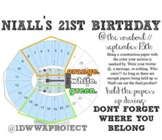 FOR EVERYONE GOING TO THE ROSE BOWL THE 13TH!!!!!! REPIN REPIN REPIN!!!! C'mon how many repins!!!!!! Show Niall we care!!!!!!!!!! Let's do this! Make him the best birthday ever!!!!!!