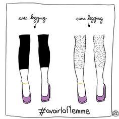 #célibataire #épilation #jambes #dessin #MadLili