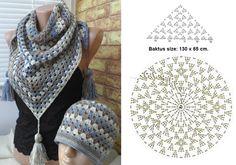 Crochet Baktus with matching hat