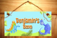 Hey, I found this really awesome Etsy listing at https://www.etsy.com/listing/54872650/a-dinotastic-dinosaur-door-sign-boys