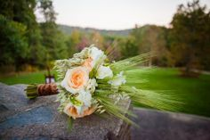 Rustic Country Wedding Ideas | Rustic elegant country bouquet