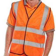 B Seen High Visibility Vest orange
