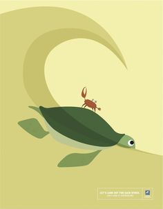 Let's Look Out For Each Other: Turtle & Crab