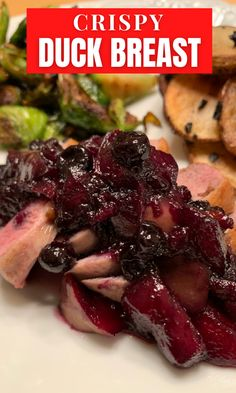 When you start with a duck breast from Maple Leaf Farms you know your duck dinner is going to be something really special. Check out our recipes for tasty and crispy duck breast. While you're at it you might want to try some duck fat French fries, too! #crispyduck #duckrecipes