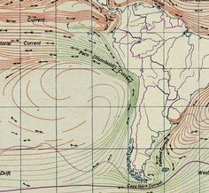 Humboldt current - Alexander von Humboldt - - (In relation to the Neoclassical Prussian Geographer, Naturalist and Explorer Alexander Von Humboldt) Economic Geography, Geography Map, Wind Map, Empire, Space Telescope, Earth Science, Social Studies, History, Image