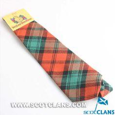 Clan Kerr Tartan Tie