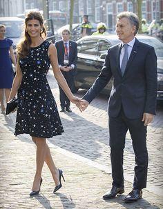 Mauricio Macri y Juliana Awada con los Reyes de Holanda