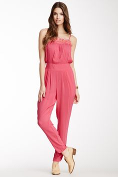 Pretty pink jumper.