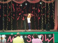 Talent Show--stage decor