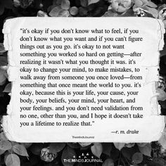 It's Okay If You Don't Know What To Feel - https://themindsjournal.com/okay-dont-know-feel/