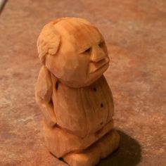 Carving A Grumpy Man From Wood instructables.com