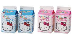 Hello kitty milks