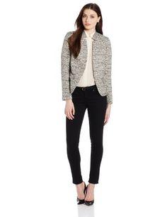 Helene Berman Women's Tweed With Contrast Collar To Edge Jacket, Black/Silver, Medium Helene Berman http://www.amazon.com/dp/B00G6DIH0A/ref=cm_sw_r_pi_dp_nmzYub05S4YG1