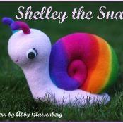 Shelley the Snail - via @Craftsy