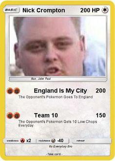 England is my city Nick Crompton