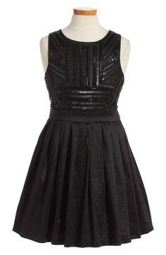 Bardot Junior Sequin Embellished Fit & Flare Dress (Little Girls & Big Girls) available at #Nordstrom