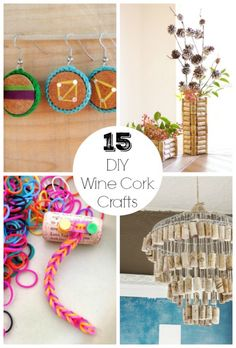 Lei è da seguire!!!! 😍 15 DIY Wine Cork Crafts