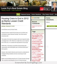 Lexie Frys Real Estate Blog - Click to visit blog:  http://1.33x.us/Hzq9i3