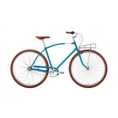 """Rower Miejski Damski Creme Glider 3S 28"""". Rower pokochają wszystkie kobiety, które lubią ostrzejszą jazdę po mieście. http://damelo.pl/rowery-miejskie-dla-twojego-mezczyzny/534-rower-miejski-damski-creme-glider-flat-3s-28.html"""