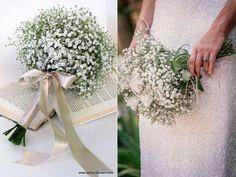 Maneiras de usar a flor mosquitinho no buquê de casamento | Casar.com Arte Floral, Dream Wedding, Bouquet, Table Decorations, Bridal, Flowers, Wedding Ideas, Home Decor, Bouquet Wedding