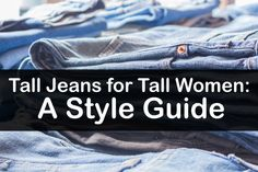 A guide on how to rock REEEAAAaally tall jeans. Skinny vs. Bootcut? YOU DECIDE! #TallGirlsRock #Styletips