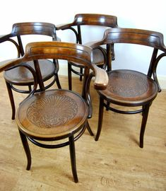 Bentwood Chairs, Dining Chairs, Antiques For Sale, Restoration, Armchair, Ethan Allen, Places, Furniture, Home Decor