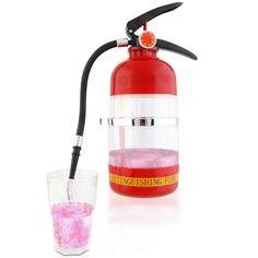 Getränkebehälter im Feuerlöscher-Design | Blitzlieferung