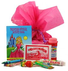 girls activity pack for wedding