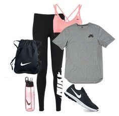 All Nike hiking outfit. by serinkimball on Polyvore featuring NIKE