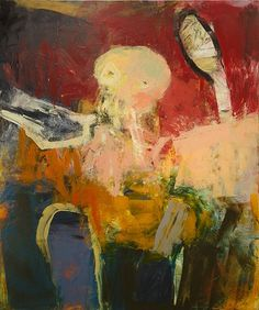 Henry Jackson Untitled ( 2014 Oil & Cold Wax On Canvas Over Panel 72 in x 60 in Abstract Expressionism, Abstract Art, Face Art, Art Faces, Henry Jackson, Richard Diebenkorn, Life Drawing, Figure Painting, Figurative Art
