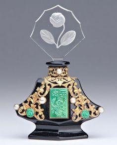 Creative vintage perfume bottles | art glass perfume bottle