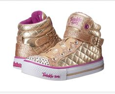 Sketchers gold twinkle toes - yes I'm 25 and I need these.