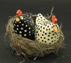 Resultado de imagem para ceramic chickens