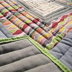 Albers Modern Quilt by Natalie Davis